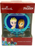 2017 Hallmark Frozen Elsa and Anna Christmas Ornament
