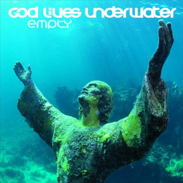God Lives Underwater CD Empty 1995 American Records Used