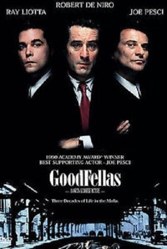 Goodfellas DVD Ray Liotta, Robert De Niro, Joe Pesci 1997 Warner Brothers Used