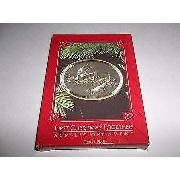 Hallmark First Christmas Together 1985 Ornament in Box