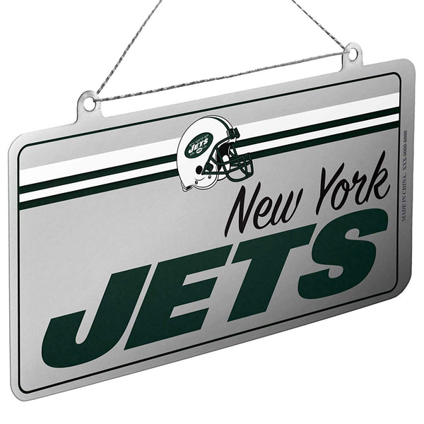 NFL New York Jets Metal License Plate Christmas Ornament by FOCO