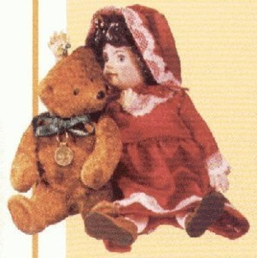 Hallmark 1993 Julianne and Teddy Special Edition Christmas Tree Ornament QX529-5