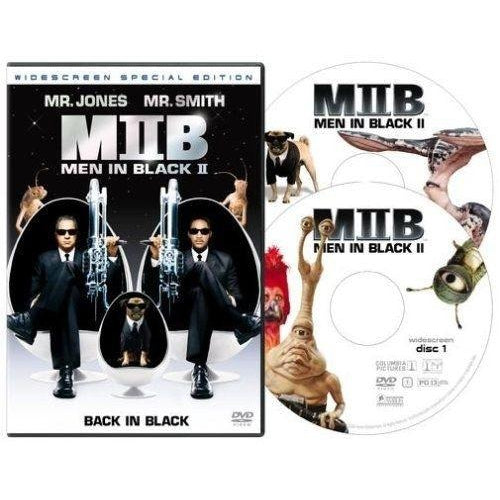 Men in Black II Widescreen Will Smith Tommy Lee Jones Special Edition 2-DVD 2002