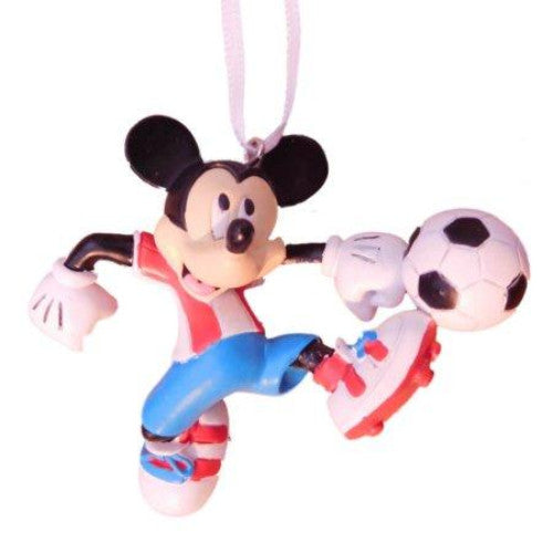 Hallmark 2017 Mickey Mouse Playing Soccer Christmas Tree Ornament