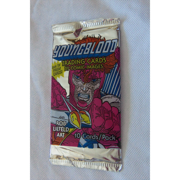 1 Pack of 1992 YOUNGBLOOD 10 Trading Cards by Comic Images