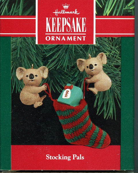 Hallmark Keepsake Stocking Pals Christmas Ornament 1990