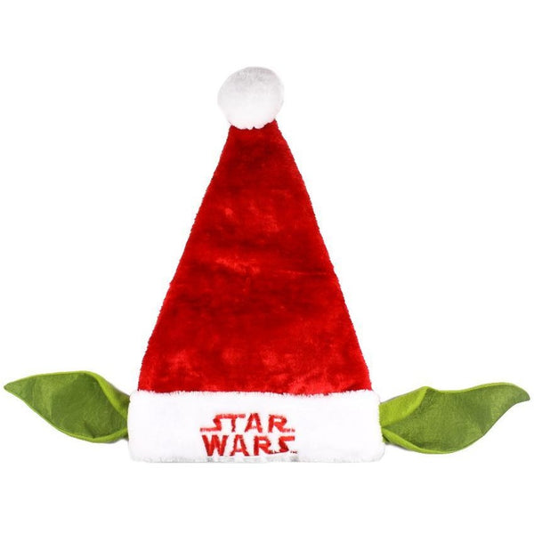 "Disney Star Wars Yoda Santa Hat with Ears 20"" Tall by Grupo Ruz"