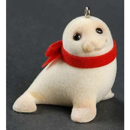 Hallmark 1984 Snowy Seal Keepsake Christmas Ornament