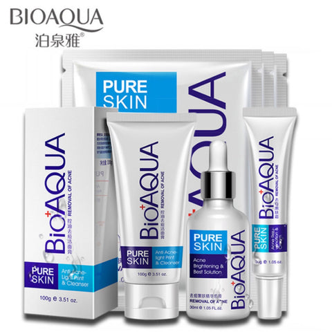 Anti-acne Skin Treatment and Care Set - MyShimi.com