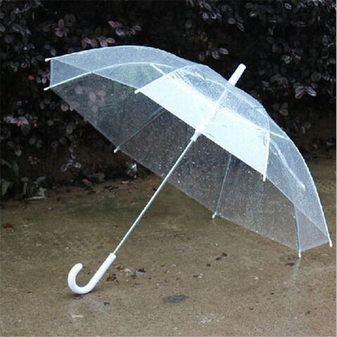Fashionable Transparent Clear Umbrella - MyShimi.com