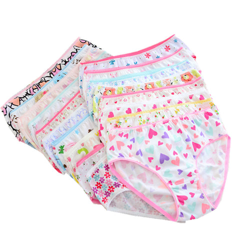 Baby Girls Assorted Cotton Panties Lot of 10 - MyShimi.com