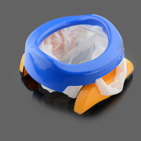 Plastic Toilet Potty Infant Portable Folding Chair - MyShimi.com