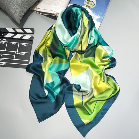 Luxurious Designer Silk Scarves - MyShimi.com