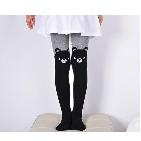 Fashionable Knitted Cotton Tights for Baby Girl - MyShimi.com