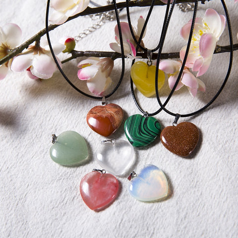 2018 Hot Opal Leather Necklaces - MyShimi.com