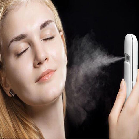 Portable USB Nano Mist Facial Moisturizing Spray - MyShimi.com