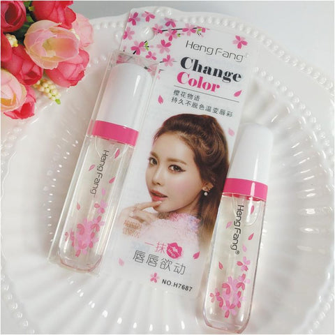 Long Lasting Clear Color-changing Moisturizing Lip Gloss - MyShimi.com