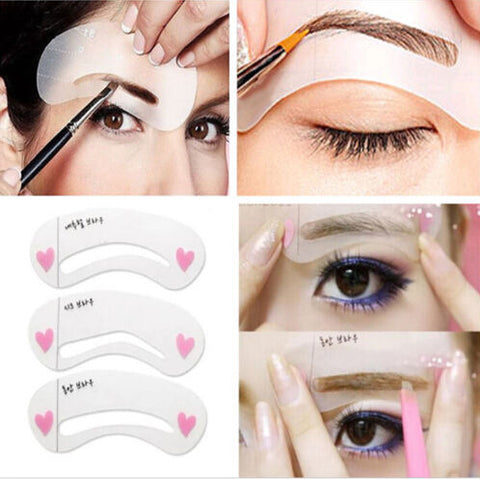 Eyebrow  Shaper Stencil Kit - MyShimi.com