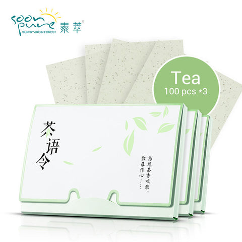 Soonpure Matting Wipes with Green Tea - MyShimi.com