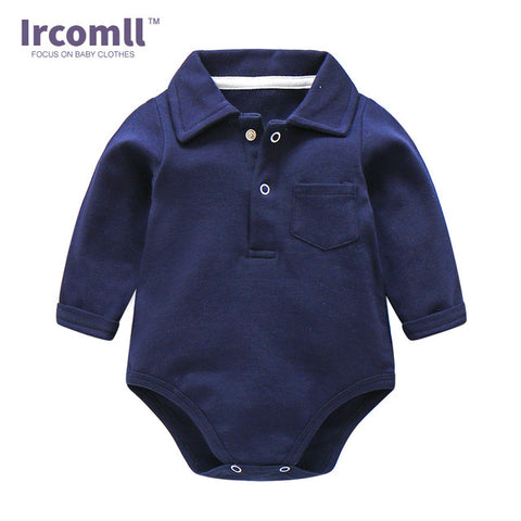 Premium Cotton Long Sleeve Jumpsuits for Newborn Baby Boy