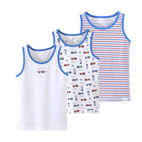 Boys Cotton Cartoon Summer Wear Tops - MyShimi.com