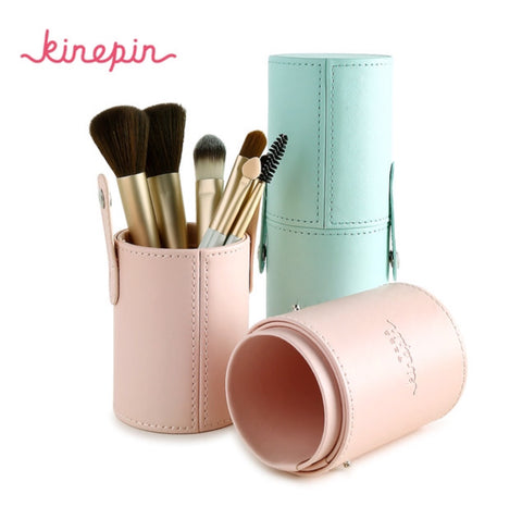 Stylish Round Makeup Brush Holder