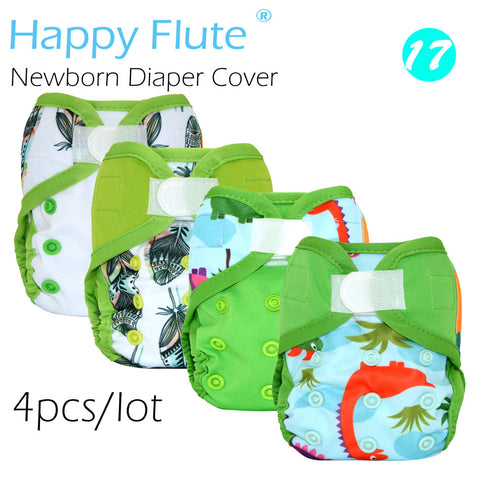 Newborn Waterproof Double Leaking Guards Diaper