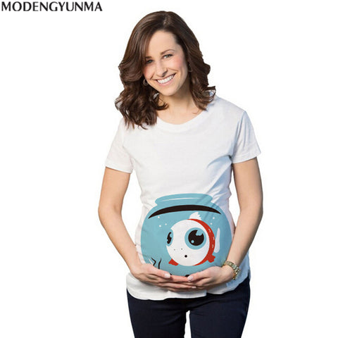 Premium Quality Maternity T-shirt with Cute Designs - MyShimi.com
