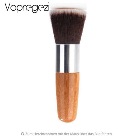 Makeup Powder Brush in Premium Wooden Handle - MyShimi.com