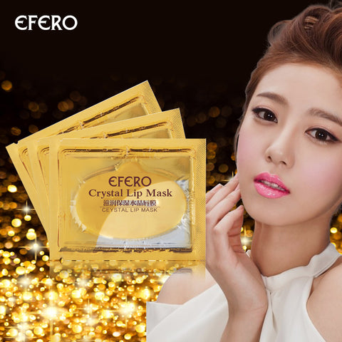 Collagen Crystal Gold Gel Lip Mask - MyShimi.com