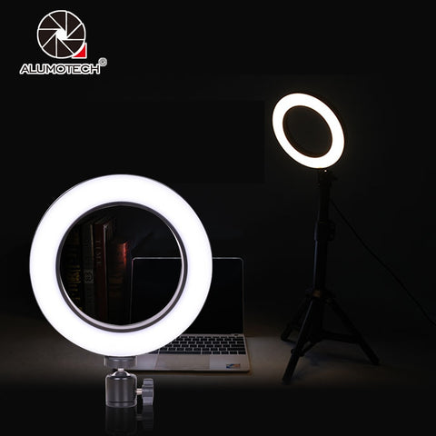 64 Beads LED Mini Ring Light With Ball Head Set - MyShimi.com