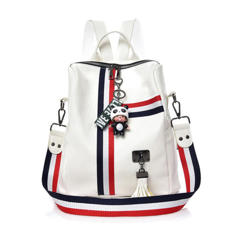 Cute Colorful Backpacks with Keychain for Girls - MyShimi.com
