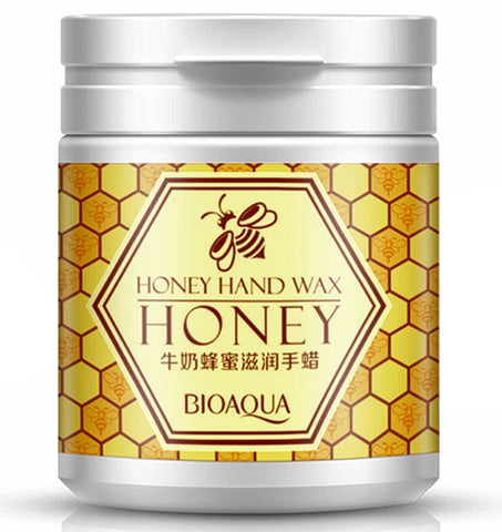 Honey and Milk  Exfoliating Paraffin Wax for Men and Women - MyShimi.com