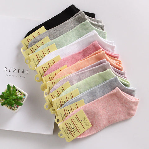 Ankle Casual Cotton Socks for Ladies - MyShimi.com