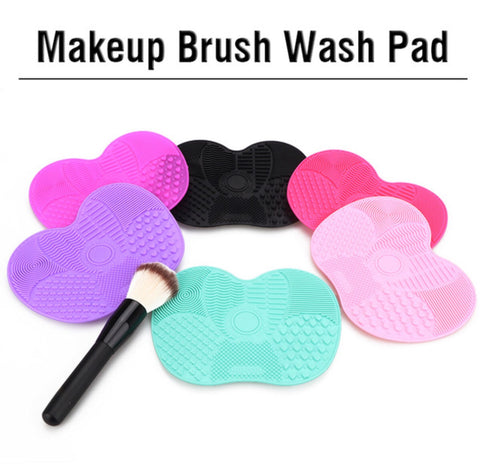 Silicone Makeup Cleaning Pad Scrubber