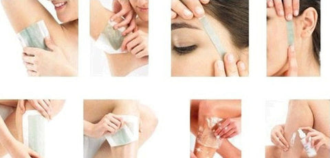 Hair Removal Double Side D  Epilators Wax Strip - MyShimi.com