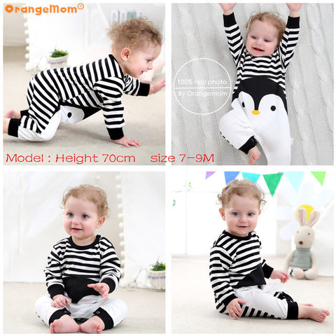 Premium Cotton Long Sleeve Romper for Babies - MyShimi.com