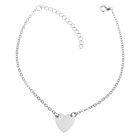 Fashionable Heart Anklets for Ladies - MyShimi.com