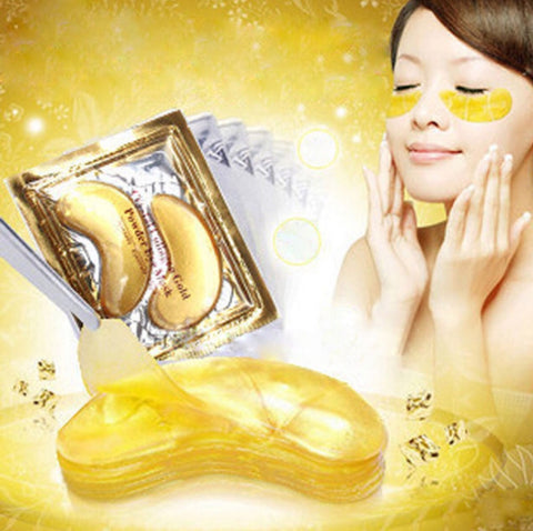 Anti-Wrinkle Gold Collagen Eye Mask 10 Packs - MyShimi.com
