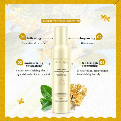 Natural Osmanthus Plant Extract Moisturizing Facial Spray - MyShimi.com
