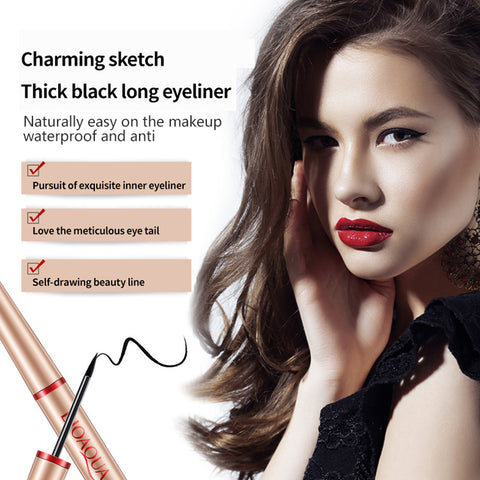 Black Waterproof Liquid Eyeliner - MyShimi.com