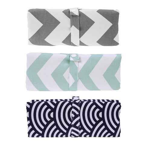 Washable Compact Travel Nappy Changing Mat