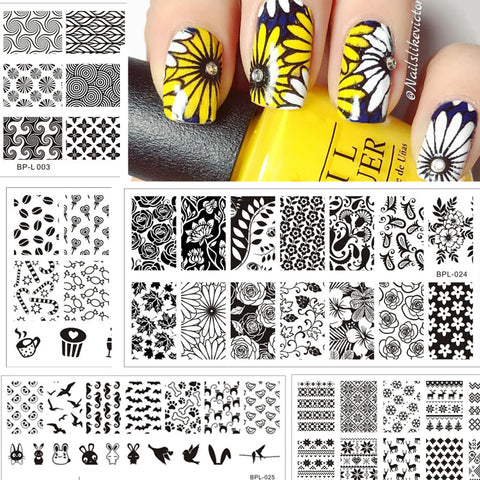 Born Pretty Stylish Nail Art Templates - MyShimi.com
