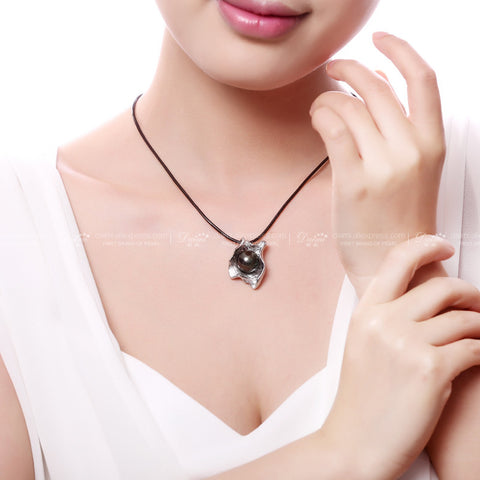 Natural Freshwater Pearl Pendant Necklace - MyShimi.com
