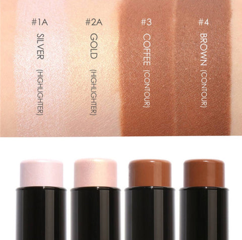 Face Bronzer & Contour Highlighter Stick in 4 Colors - MyShimi.com