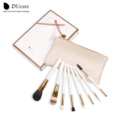 8-Piece  Makeup Brush Set with Free Pouch - MyShimi.com