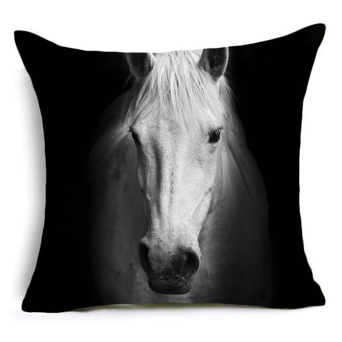 Premium Polyester Cushion Covers with High-definition Animal Pattern Decorative Designs