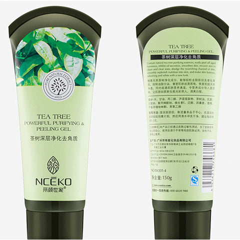 Tea Tree Essence Purifying Exfoliator Peeling Gel - MyShimi.com