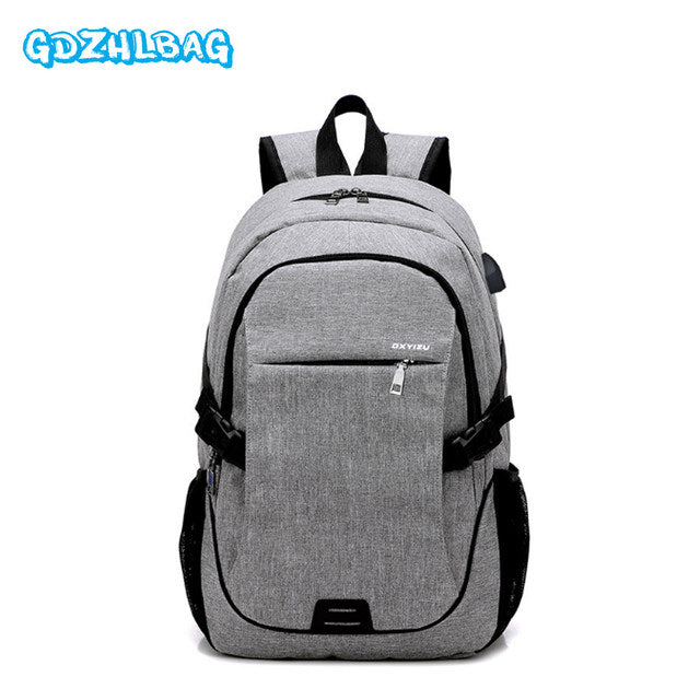 High Quality Anti-Theft Waterproof Backpacks with USB Charger - MyShimi.com