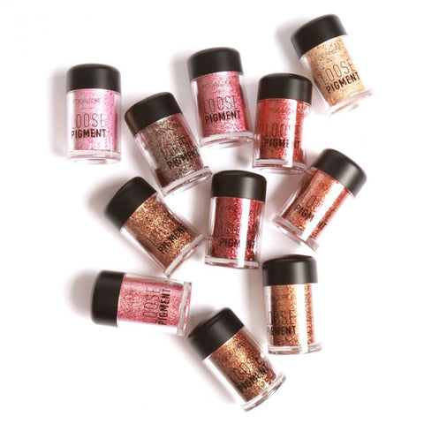18-Color Glitter and Glossy Eyes Shadow Make-up - MyShimi.com